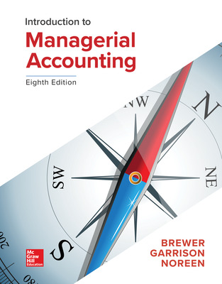 Introduction to Managerial Accounting