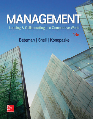 Management: Leading & Collaborating in a Competitive World