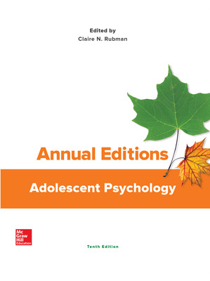 Annual Editions: Adolescent Psychology