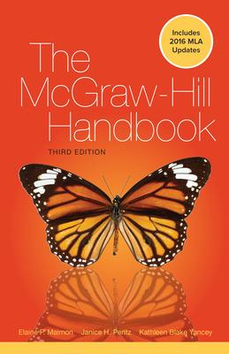 McGraw-Hill Handbook PAPERBACK MLA 2016 UPDATE