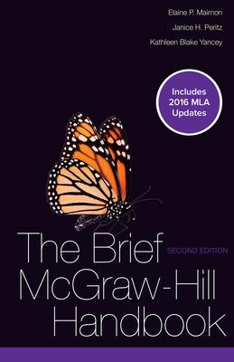 Brief McGraw-Hill Handbook MLA 2016 UPDATE