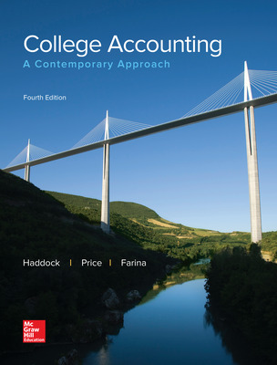LooseLeaf for College Accounting: A Contemporary Approach