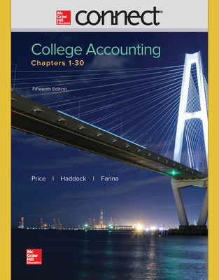 Connect Online Access for College Accounting