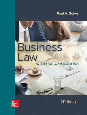 Business Law with UCC Applications 15/e
