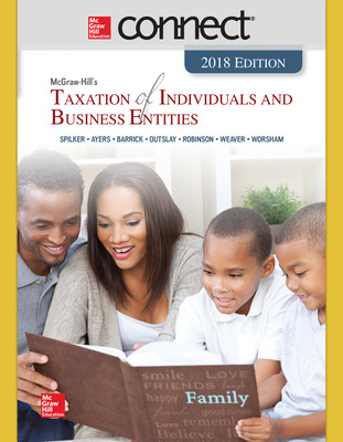 Connect Online Access for McGraw-Hill's Taxation of Individuals and Business Entities 2018 Edition