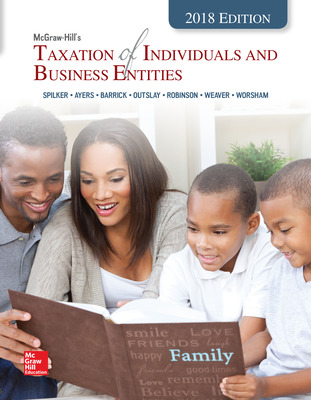 Loose Leaf for McGraw-Hill's Taxation of Individuals and Business Entities 2018 Edition