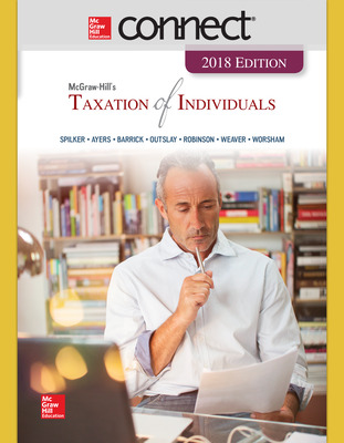 Connect Online Access for McGraw-Hill's Taxation of Individuals 2018 Edition
