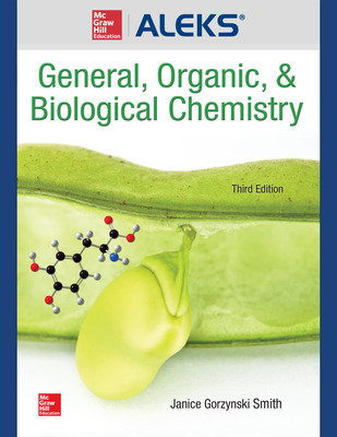 ALEKS 360 Online Access (1 Semester) for General, Organic, and Biochemistry