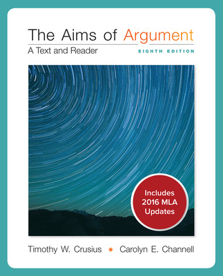 Aims of Argument MLA 2016 UPDATE