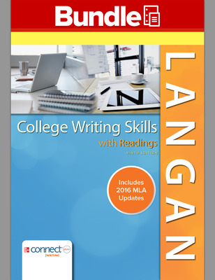 College Writing Skills with Readings, 9e Loose-leaf MLA Update and Connect College Writing Skills Access Card