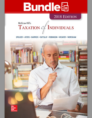 GEN COMBO LL MCGRAW-HILLS TAXATION INDIVIDUALS 2018; CONNECT ACCESS CARD