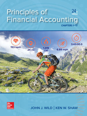 Principles of Financial Accounting (Chapters 1-17) 24/e