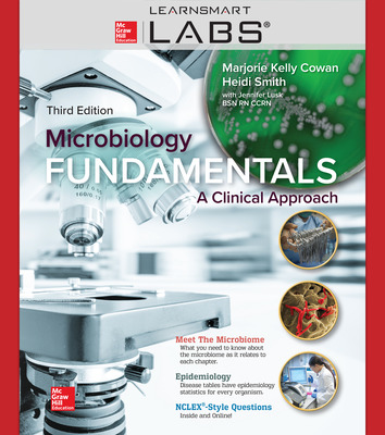 Connect with LearnSmart Labs Online Access for Microbiology Fundamentals