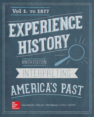 Experience History Vol 1: To 1877