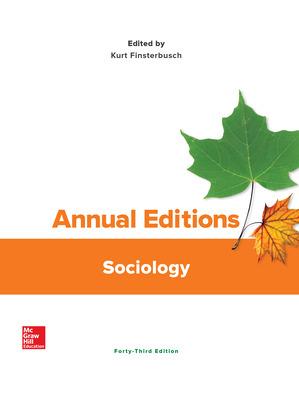 Annual Editions: Sociology, 43/e