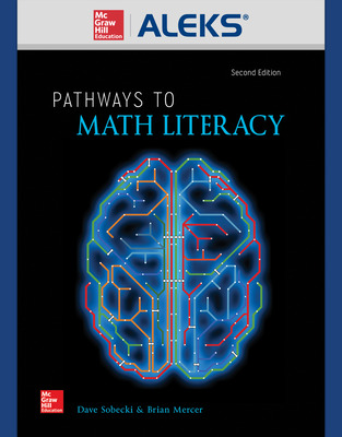 ALEKS 360 Online Access for Pathways to Math Literacy (18 weeks)