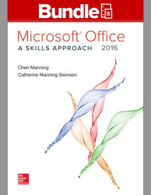 GEN COMBO LL MS OFFICE 2016:SKILLS APPROACH; SIMNET OFFICE 2016 MANNING SMBK ACCESS CARD