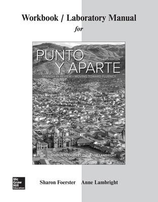 Workbook/Laboratory Manual for Punto y aparte