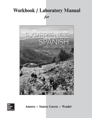 Workbook/Lab Manual for Experience Spanish
