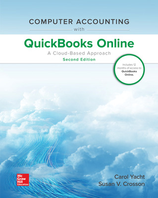 Computer Accounting with QuickBooks Online: A Cloud Based