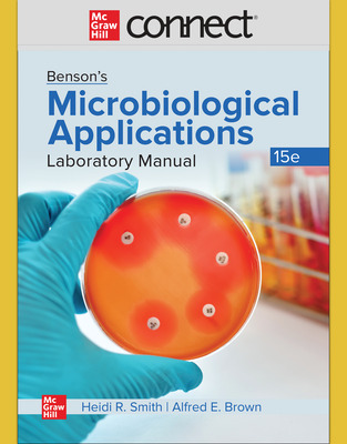 Connect Online Access for Benson's Microbiological Applications Concise Version