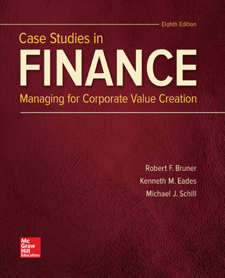 Loose Leaf for Case Studies in Finance