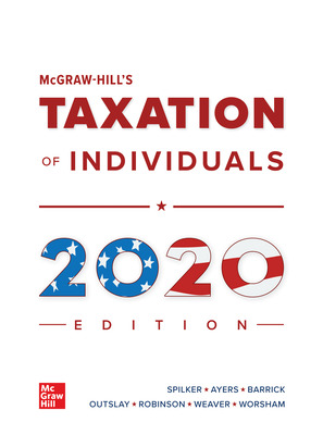 McGraw-Hill's Taxation of Individuals 2020 Edition