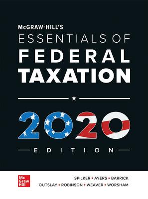 McGraw-Hill's Essentials of Federal Taxation   11/e