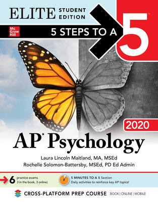 5 Steps to a 5: AP Psychology 2020 Elite Student Edition