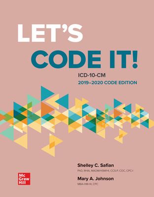 Let's Code It! ICD-10-CM 2019-2020 Code Edition