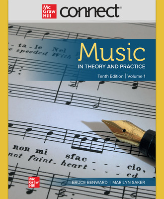 Connect Online Access for Music in Theory and Practice, Volumes 1 & 2