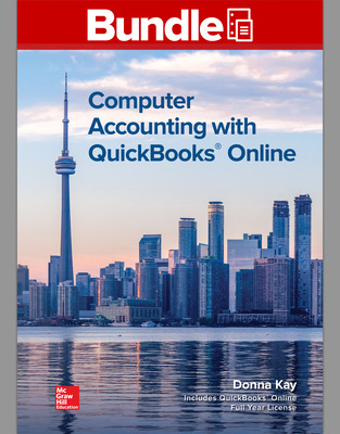 GEN COMBO LL COMPUTER ACCOUNTING W/QUICKBOOKS OL; CONNECT ACCESS CARD