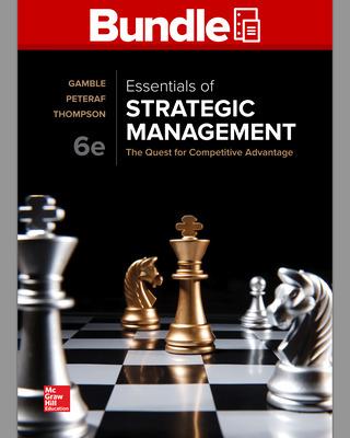 GEN COMBO LL ESSENTIALS OF STRATEGIC MANAGEMENT; BSG-GLOBUS ACCESS CARD