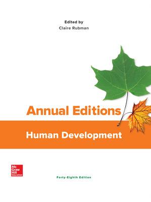 Annual Editions: Human Development