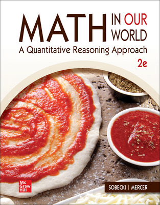 LOOSE LEAF Math in Our World: A Quantitative Reasoning Approach