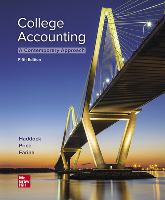 Working Papers for College Accounting (A Contemporary Approach)