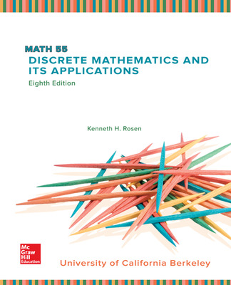LSC  (UNIV OF CALIF BERKELEY) MATH 55: Discrete Mathematics and Its Applications