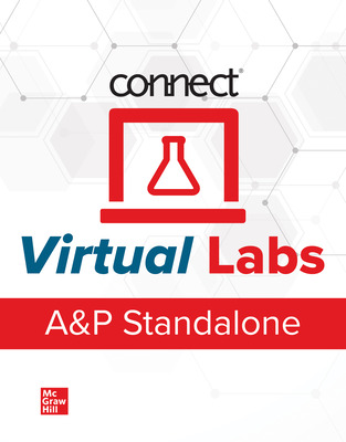 Connect Online Access for Anatomy & Physiology Virtual Labs Standalone