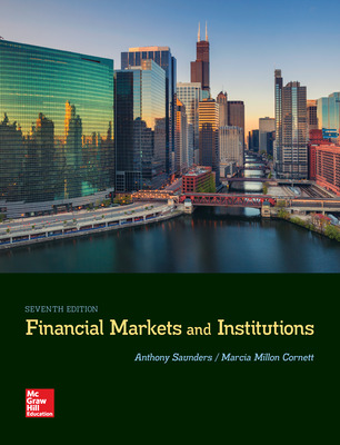 McGraw-Hill eBook Online Access 180 Day FOR FINANCIAL MARKETS AND INSTITUTIONS