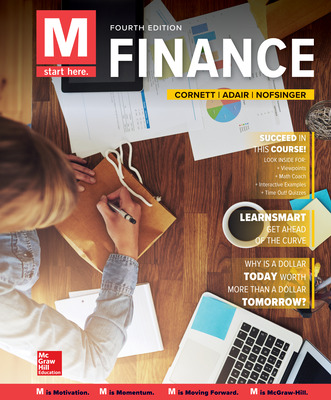 McGraw-Hill eBook Online Access 180 Day for M: Finance