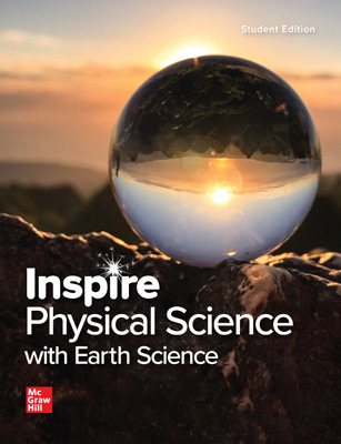 Inspire Physical Science with Earth, G9-12 Comprehensive Student Class Set (70 eSE/35 print SE) 6 yr subscription