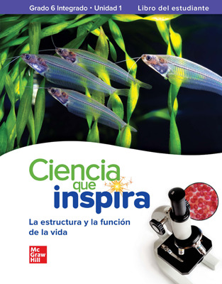 Inspire Science: G6 Integrated Comprehensive Spanish Student Bundle, 7 year subscription