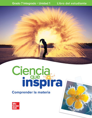 Inspire Science: G7 Integrated Comprehensive Spanish Student Bundle, 1 year subscription
