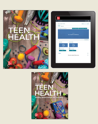 Teen Health, Standard Student Bundle with Healthy Relationships and Sexuality, 1-year subscription
