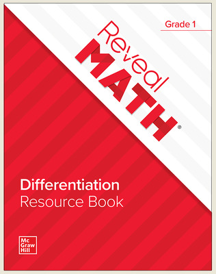 Reveal Math Differentiation Resource Book, Grade 1
