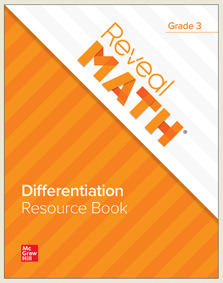 Reveal Math Differentiation Resource Book, Grade 3