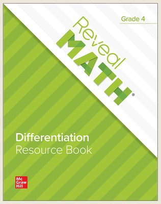 Reveal Math Differentiation Resource Book, Grade 4