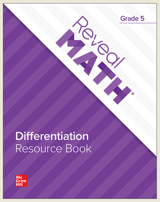Reveal Math Differentiation Resource Book, Grade 5