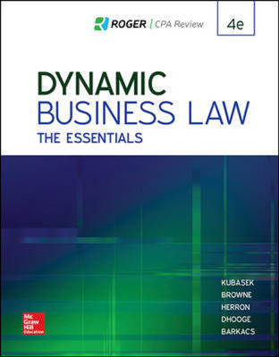 ND UNIV OF TENNESSEE CHATTANOOGA CONNECT OL ACC DYNAMIC BUSINESS LAW: ESS