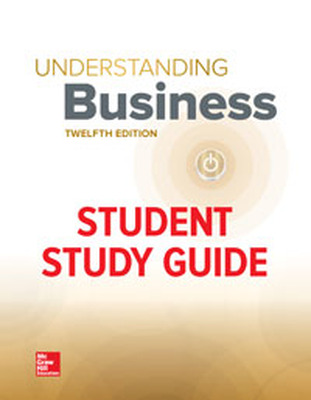 MHE eBook Online Access 180 Day for Understanding Business Study Guide